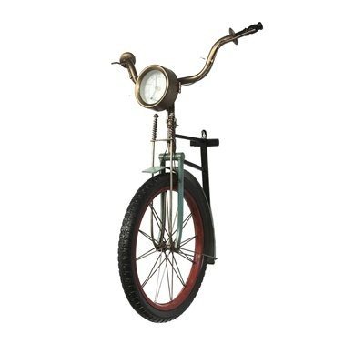 Vitale Bisiklet Model Duvar Saati Renkli